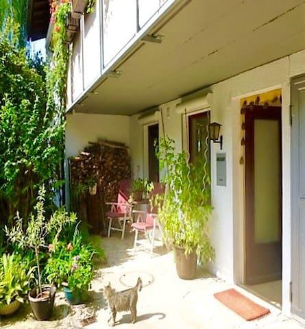 Gartenwohnung in Baden-Baden - Baden-Baden - Apartment