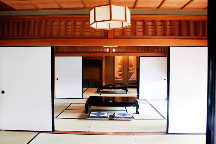 #7 Tatami 2-4 Adults Room(2 stations to KIX)