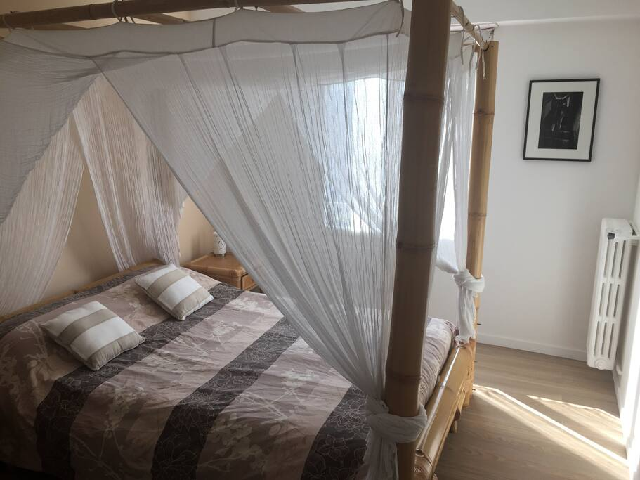 nice bedroom confortable bed best for couple flats