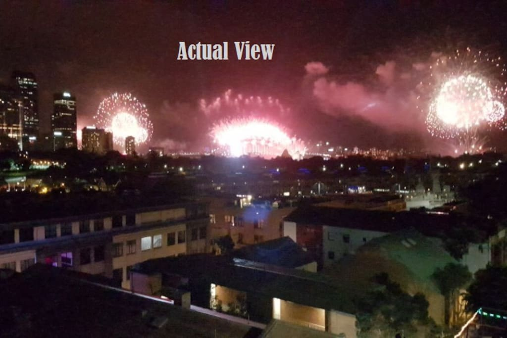 Some nights there are fire work @9pm which is your Bonus!  NYE_2016