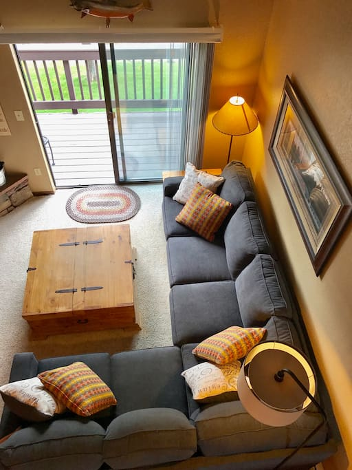 Living space from the loft!