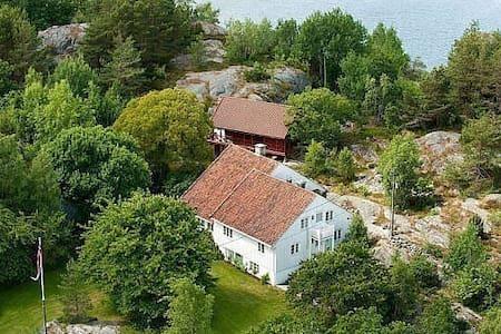 Ågerøya - Høvåg mellom Lillesand-Kristiansand - Lillesand - 独立屋