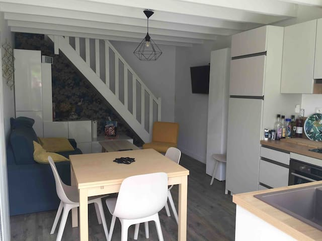 Charmante maison de pêcheur à 400m de la plage