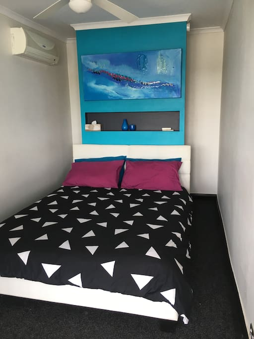 Small bedroom with ensuite