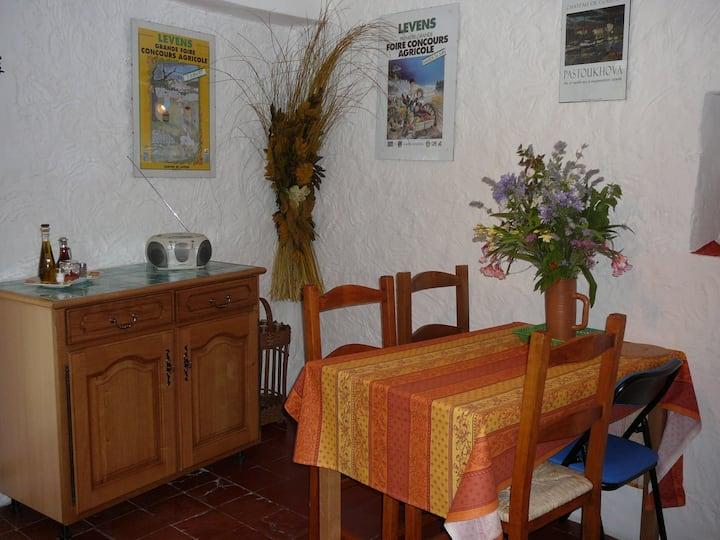 Maison typique provençale centre village