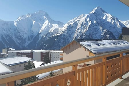 Large  flat  of 70 sqm  in 2 Alpes - Les 2 Alpes - Apartment