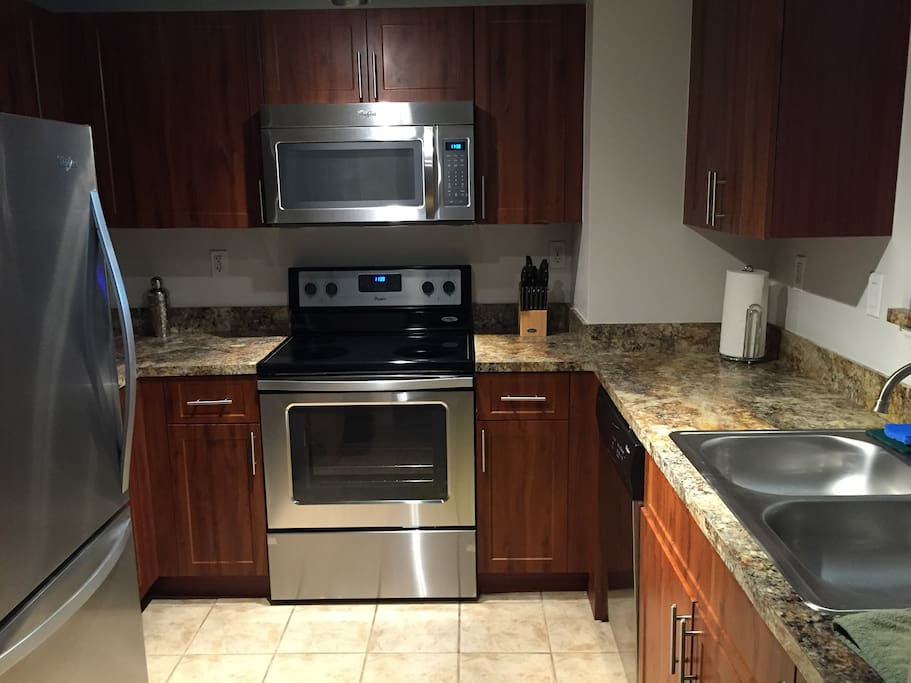 Renovated kitchen with all new appliances