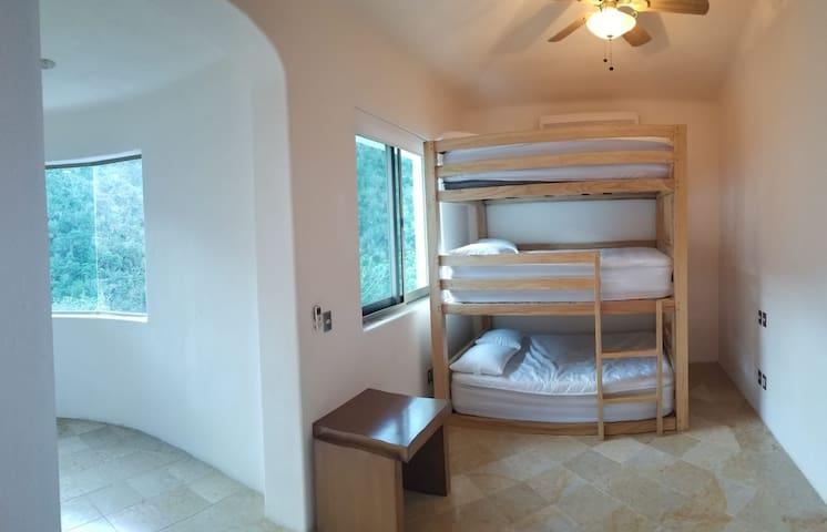 Bunk Room #3 (third floor, adjacent to Suite #1)