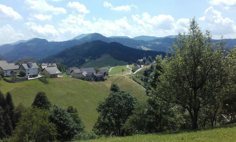 Cozy Mountain House - Zgornja Sorica - House
