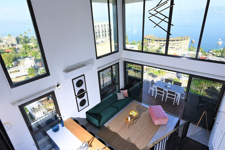 Nino Stylish Loft - Unique Home with Lake View