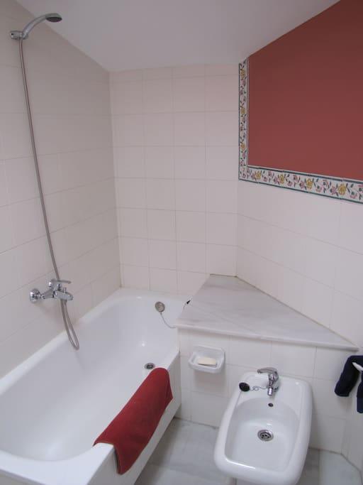 Baño dormitorio principal.