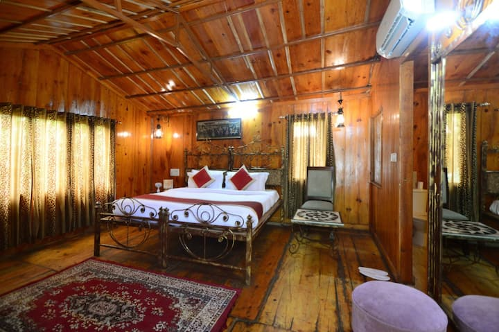 Welcoming room in a Tree house  in Jaipur