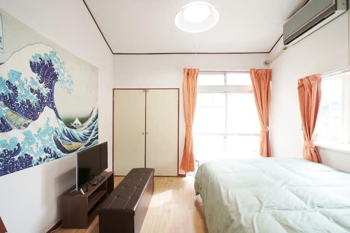 『NewOpen206』☆最大4人まで宿泊可能☆フリーWiFi完備