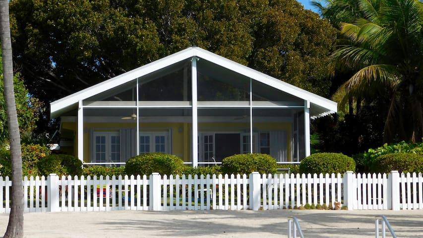 Oceanfront Islamorada Cottage - Islamorada - Casa