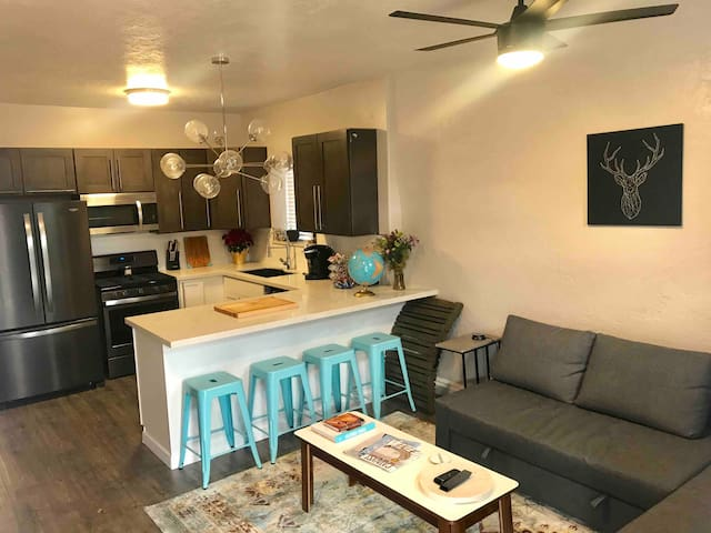 Downtown Salt Lake City Cozy Home (2 Bed 1 Bath)