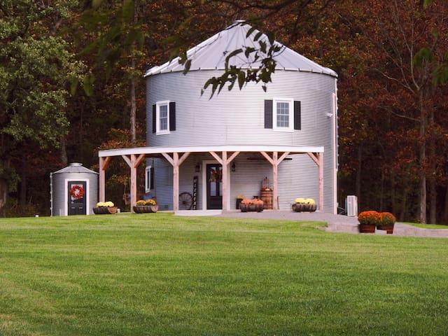 Silo Farm Haus