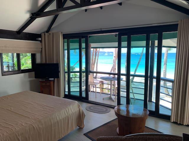 Boracay Beach Houses - Room with Veranda