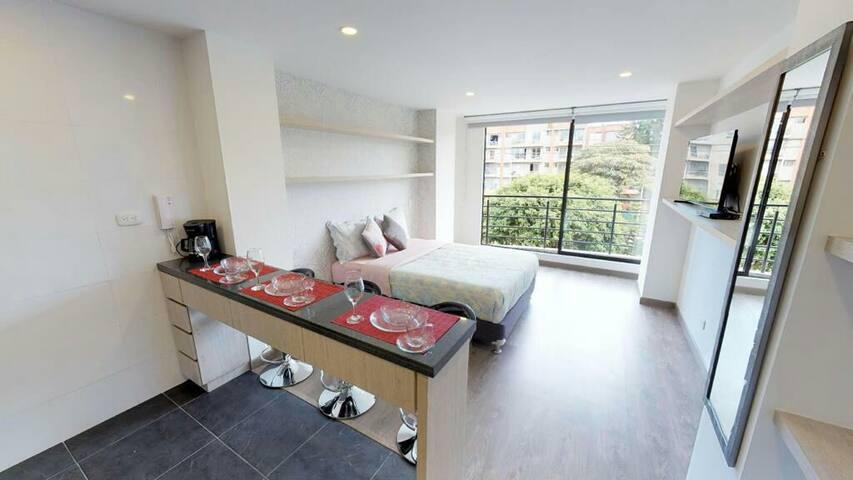 Lindo apartamento a 5 minutos de c.c  unicentro.
