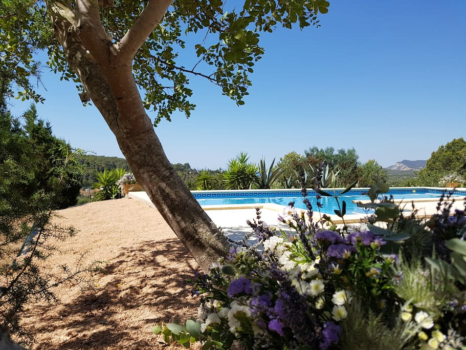 Authentic Ibiza villa with sea view in the perfect location close by everything!