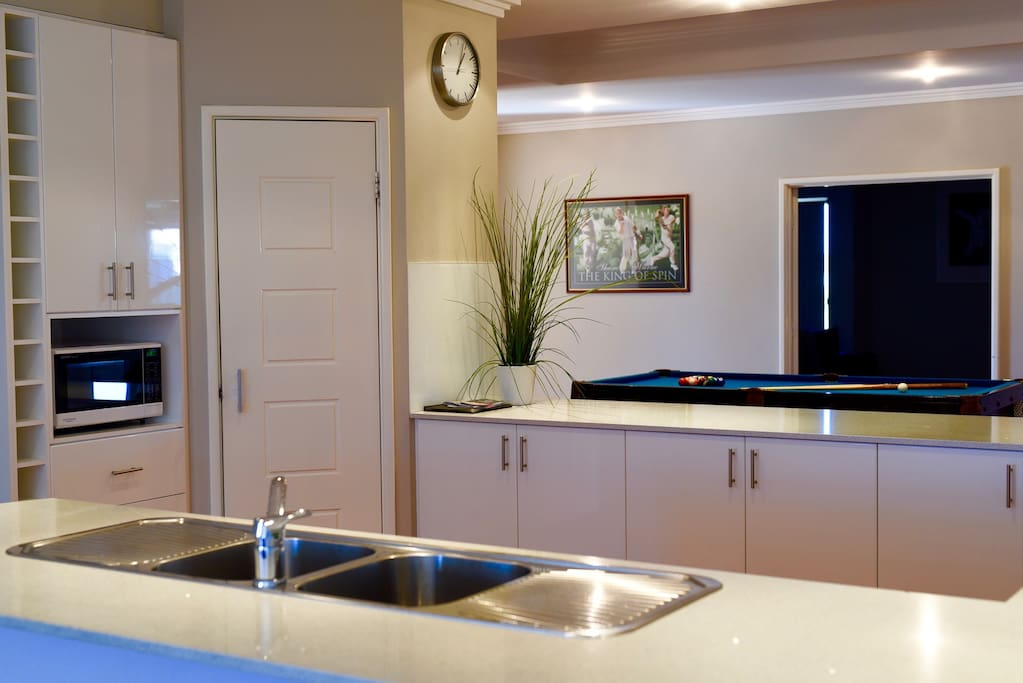 Kitchen and Games Room