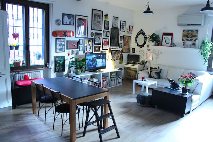 Punky/Hipster Loft close to Isola Design District