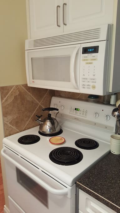 Built-In Microwave/Exhaust fan unit