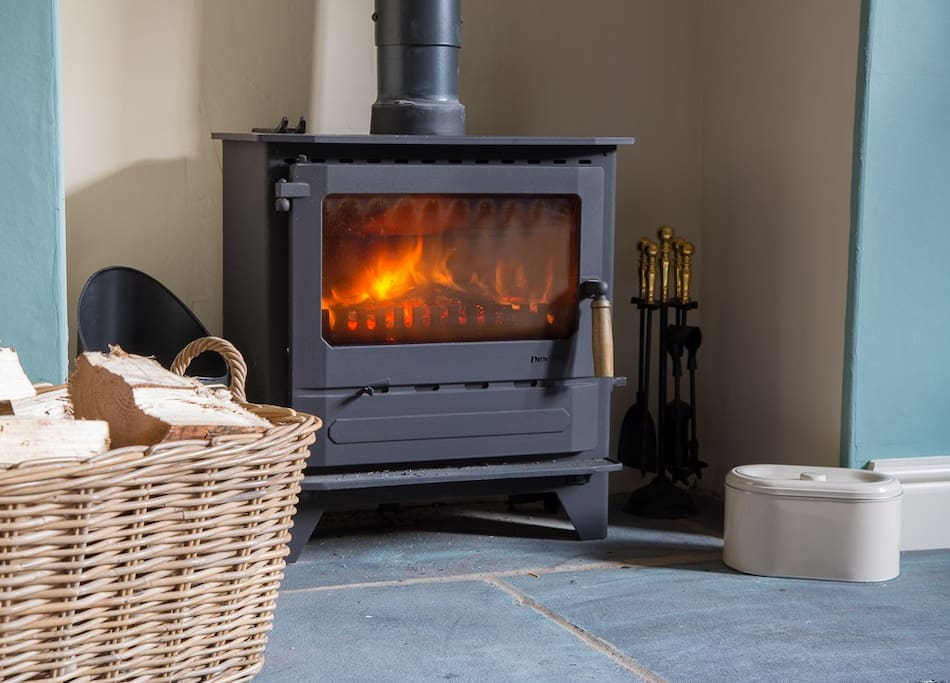 We have a real log burner to keep you warm and relaxed.