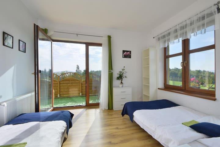 Apartament 3 pokojowy z tarasem i widokiem na góry