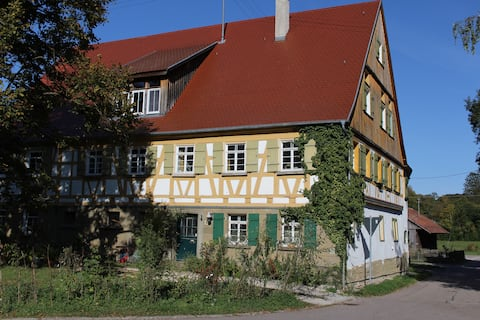 Gemütliche Landwohnung bei Schwäbisch Hall