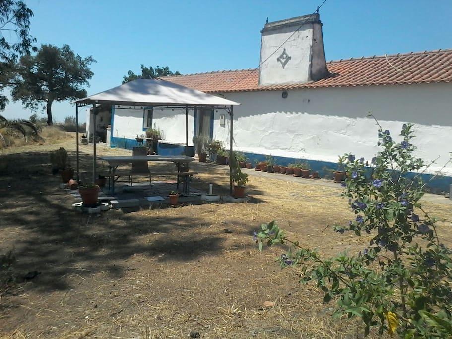 Old traditional alentejo monte maisons louer san - La maison monte na comporta au portugal ...