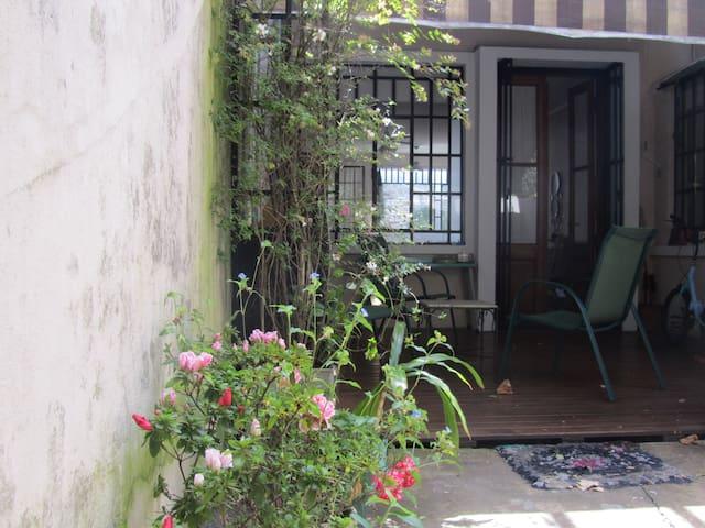 Amplia y luminosa habitación individual. - Buenos Aires - Casa