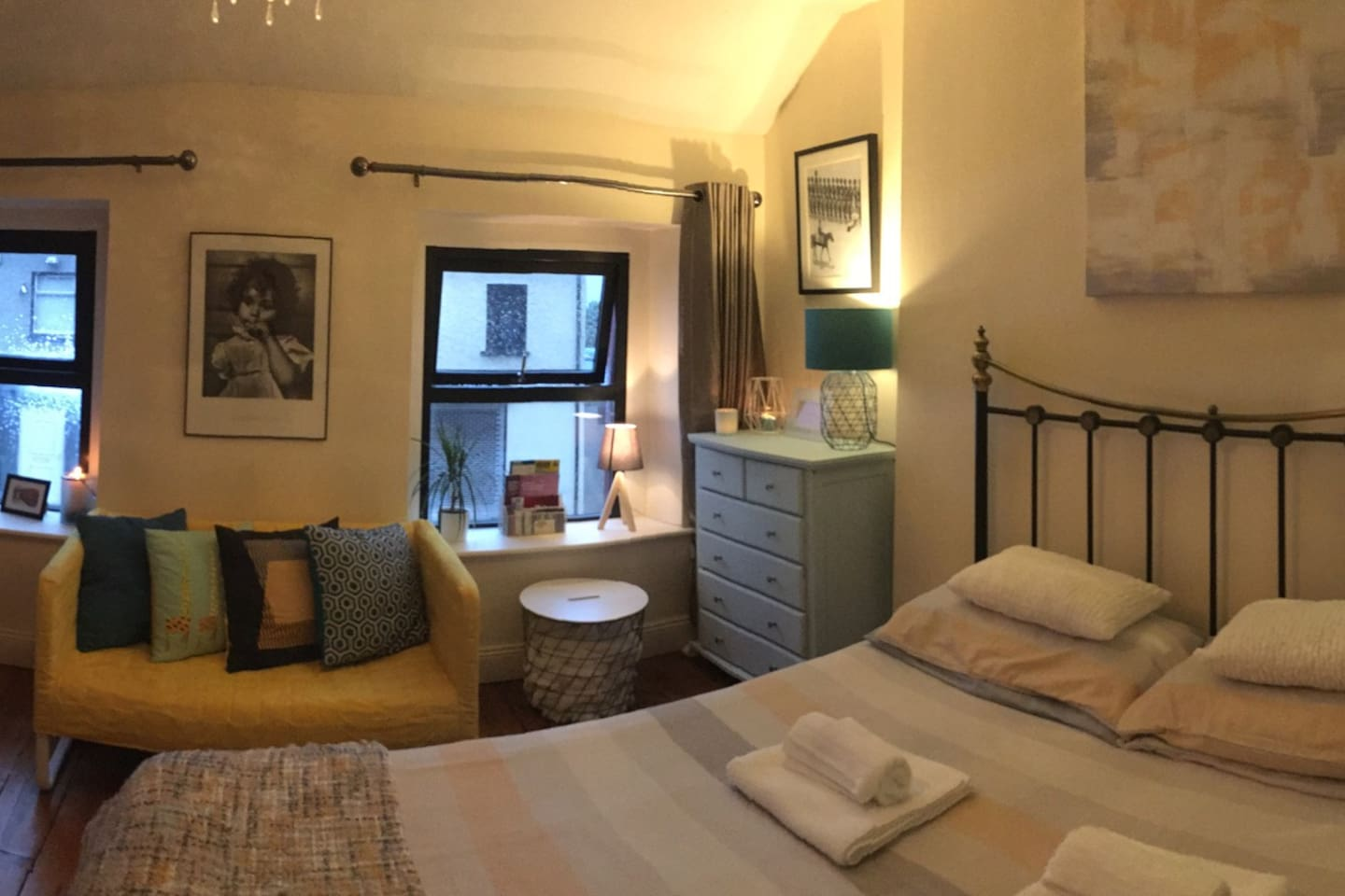 Newly decorated spacious room
