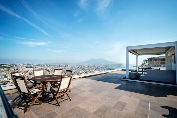 Terrace Manù - Loft suspended over the city