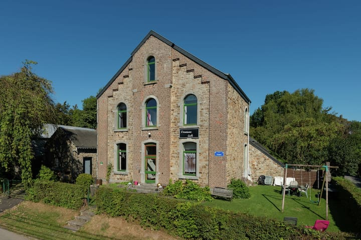 Nice holiday cottage situated in the heart of the Ardennes