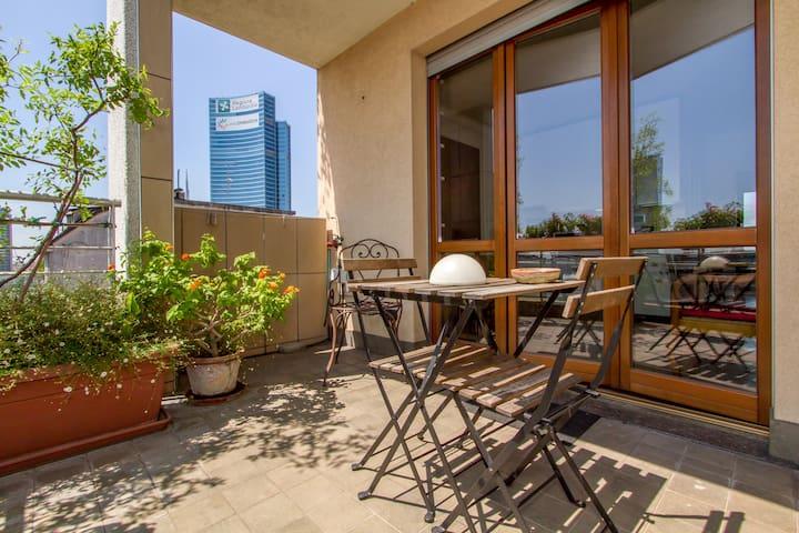 concedetevi un po' di relax in terrazzo