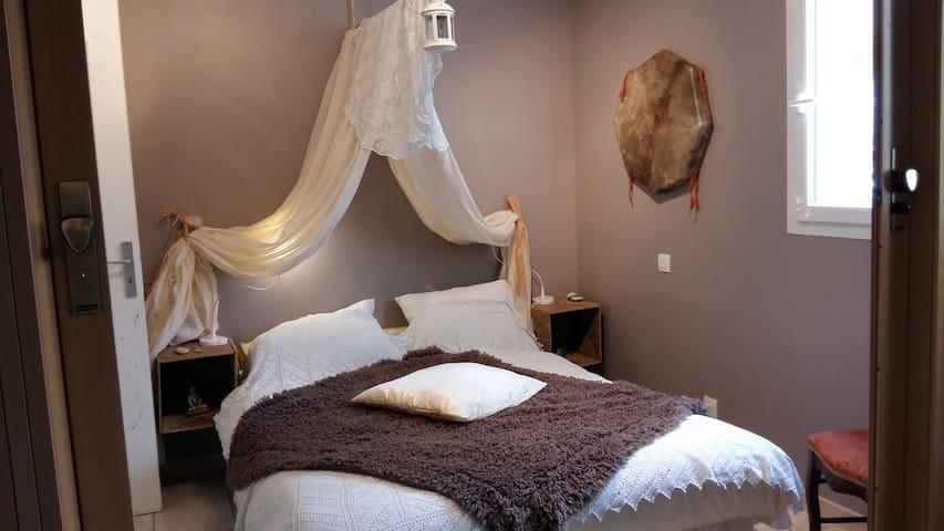 2 chambre zen vue exeptionnelle petit déj compris - Vailhauquès - House