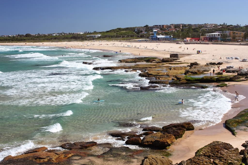 View from North End of Maroubra beach