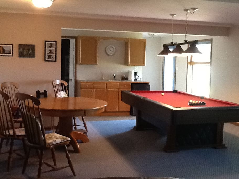 Game room - lower level
