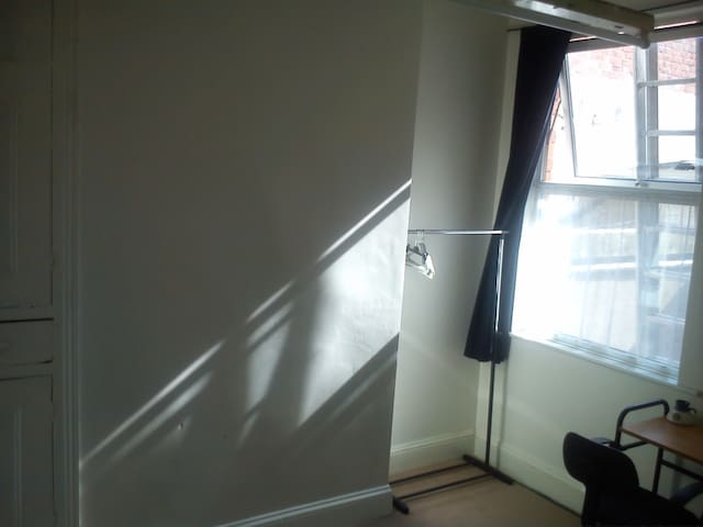 Double room in Victorian town house with park view - Leicester - Řadový dům