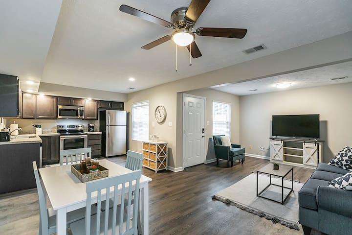 New Listing!  Renovated Townhome! 2BR/1.5BA