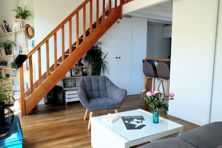 Petit appartement de caractère proche Montmarte