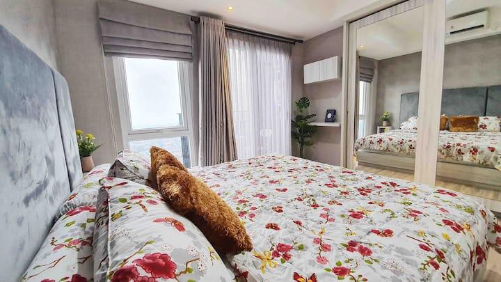 Breeze Apartemen, 1BR Cozy and Premium Condo