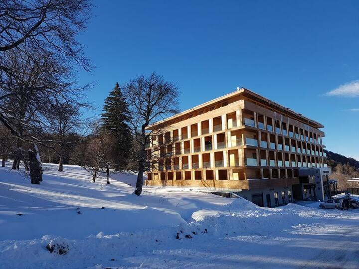 """""""The Valley"""" Studio steps to Didveli ski lift"""