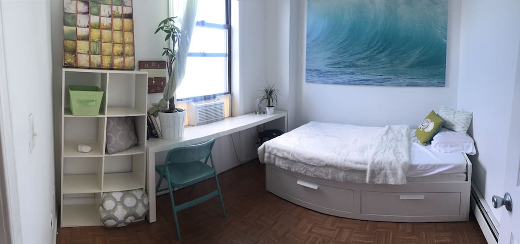 Happy Space just Mins to NYC via JC - Jersey City - Apartment