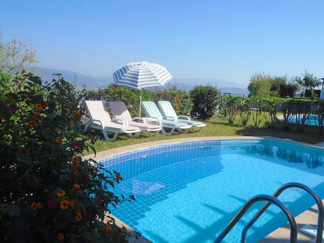 2 BEDROOM VILLA  PRİVATE POOL L4 -  Mevkii 12-B/C  - Villa