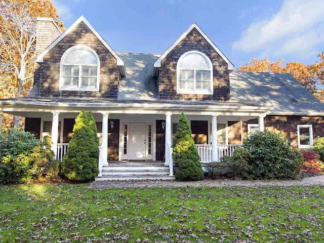 Family friendly home in the Hamptons, sleeps 8.