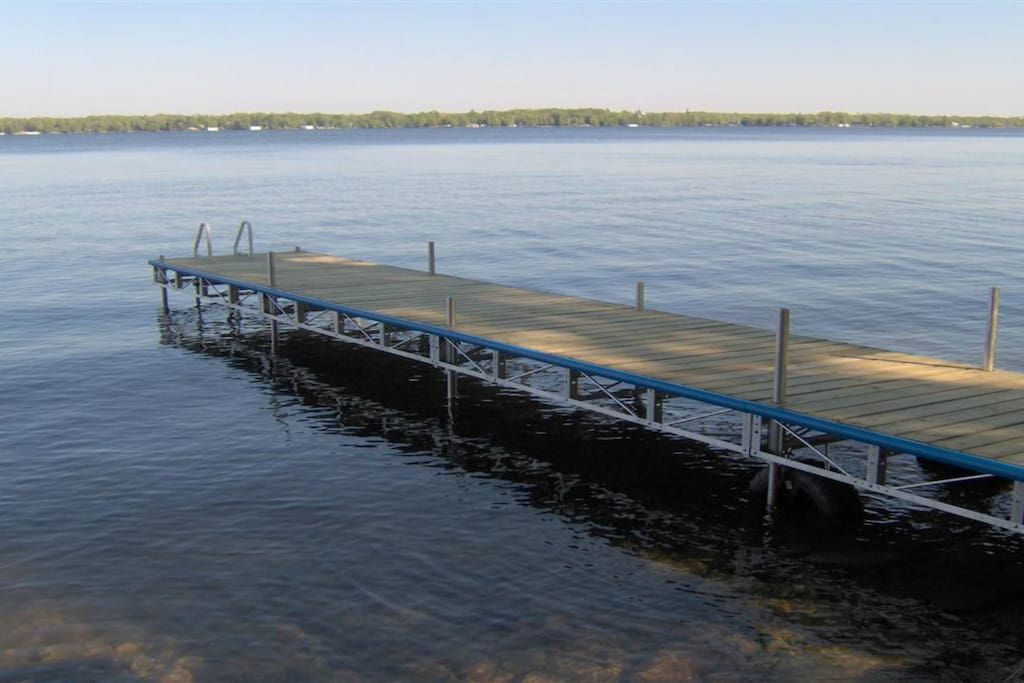 Lakefront with dock-5 feet wide X 36 feet long