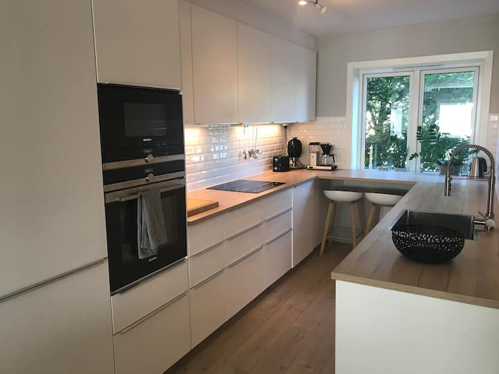 Modern apartment, right outside Oslo City center