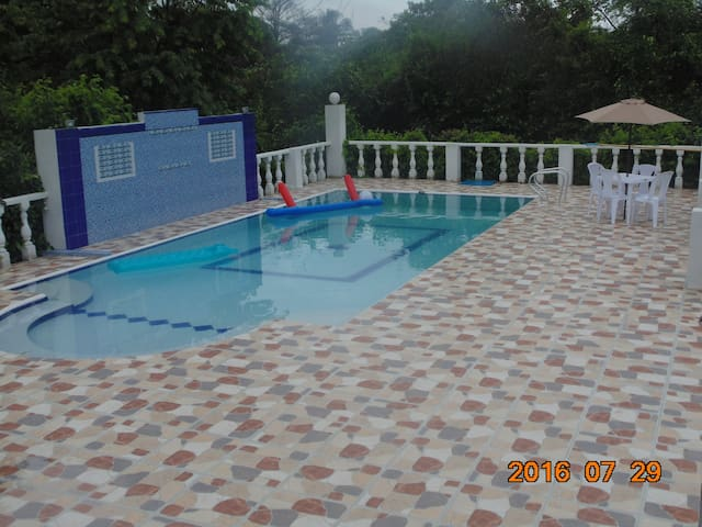 Confortable casa de descanso en Girardot Ricaurte - Agua de Dios