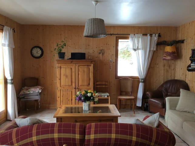 """Chambre """"Les chamois"""" dans maison du Queyras"""